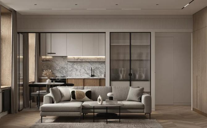 上臣丨现代原木风公寓